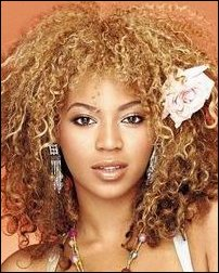Beyonce Curly Afro